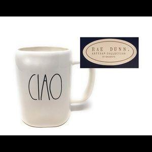 Rae Dunn by Magenta CIAO ceramic LL Coffee Mug